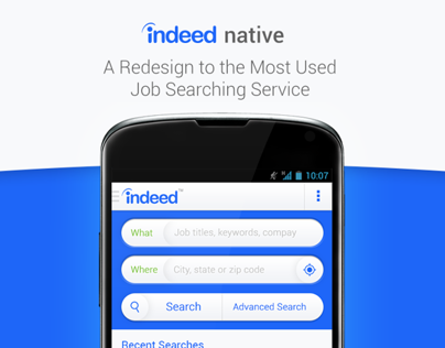 Indeed App Redesign