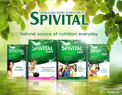Spivital Spirulina Supplement