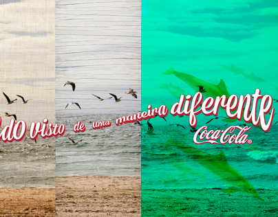 Coca-Cola: O mundo visto de uma maneira diferente