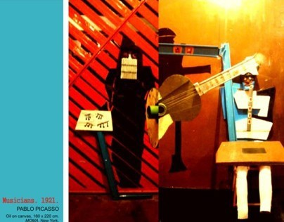 ARCHITECTURE FUTURES, THREE MUSICIANS, CUBISM