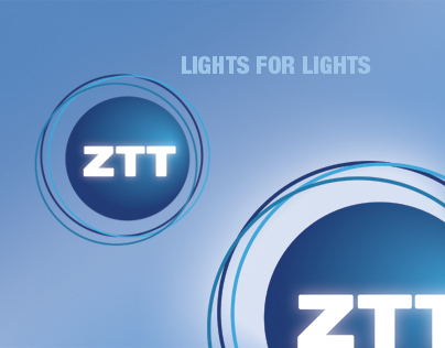 ZTT - LIGHTS FOR LIGHTS LOGO