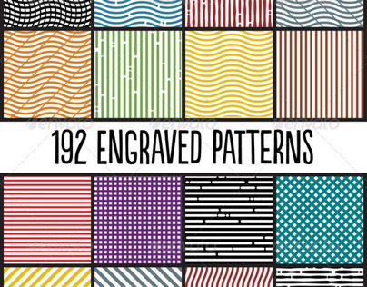 Engraved Photoshop Patterns