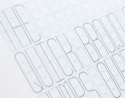 Vitral - a Tall Thin and Elegant typeface