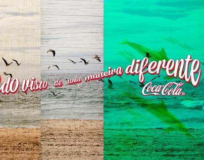 """Coca-Cola: """"O mundo visto de uma maneira diferente"""""""