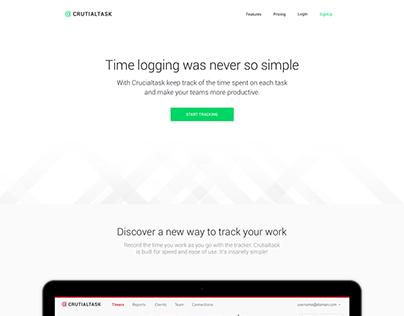CrutialTask | LandingPage