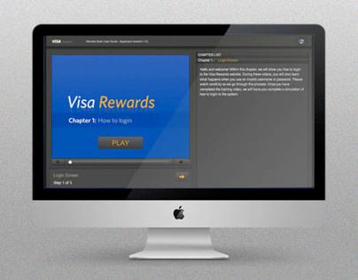 Visa Latin America   Rewards Training App