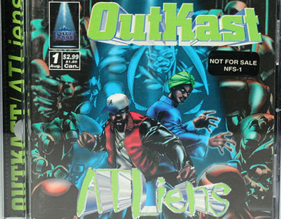Out Kast ATLiens - Album Project