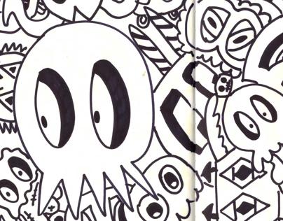 Sketchbook 2013 (1st Half)