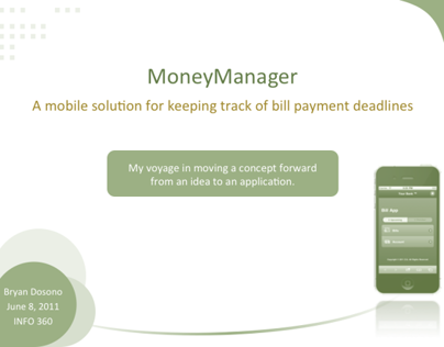 MoneyManager App
