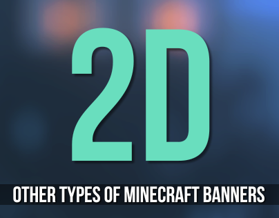 MC Banners (2D)