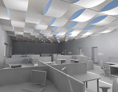 wave ceiling for archicad