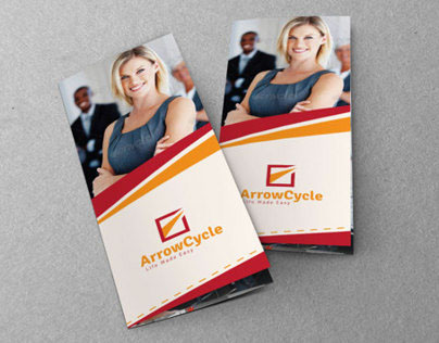 Marketing Business Tri-Fold Brochure