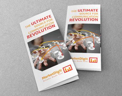 Business Solution Tri-Fold Brochure