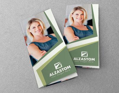 Alzastom Tri-Fold Brochure