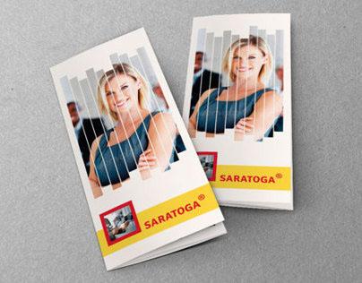 Saratoga Tri-Fold Brochure