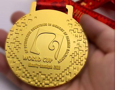 Медаль Кубка мира нефтяных стран по боксу 2018