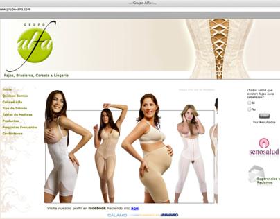 Website - Grupo Alfa