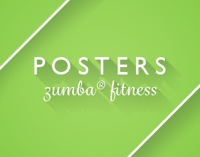 Zumba® Fitness Poster Collection Vol. II