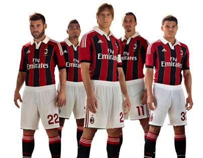 New Design To Ac Milan
