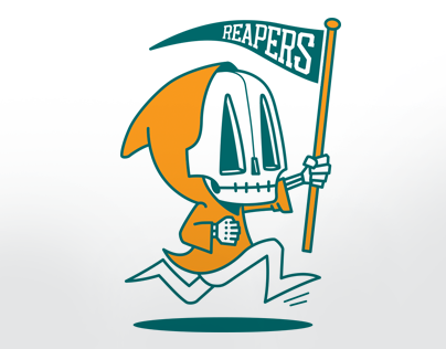 Reaper Mascot Graphic