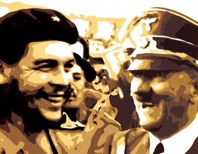 Ernesto Guevara and Adolf Hitler