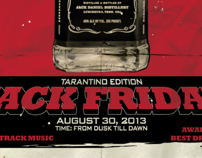 Cafe Daniels: Jack Friday - Tarantino Edition