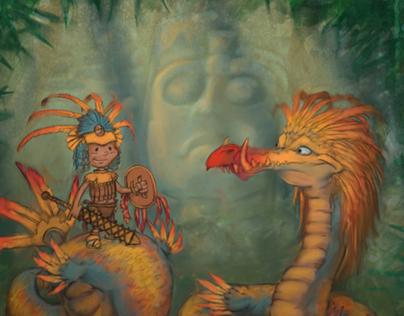 Quetzalcoatl and the Boy Warrior Iztali