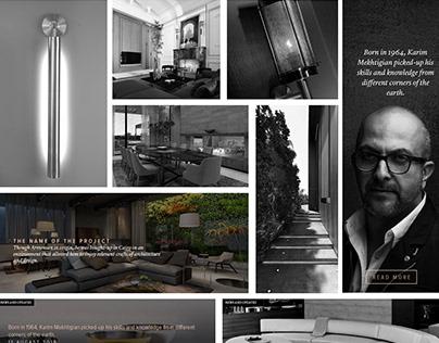 Karim Mekhtigian (KMD) Official Website Design