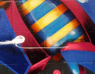 GRAFFITI • huckleMARY