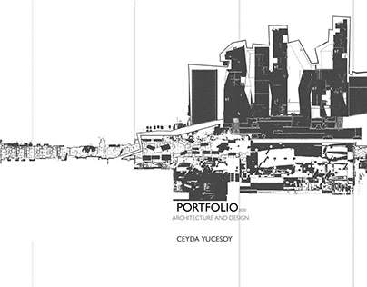 architecture student portfolio 2019-2020 ceyda yucesoy