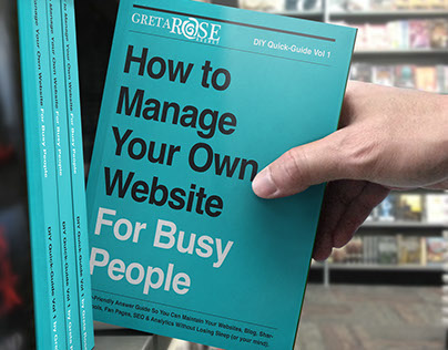 How to Manage Your Own Website (how to book)