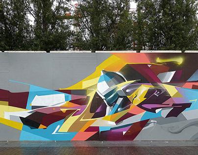 Graffiti selection. 2016