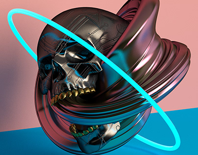 3D Skull Series
