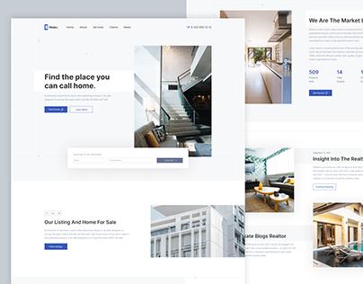 Real Estate Web Design Demo