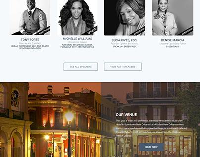 Conference Registration Site (WordPress)