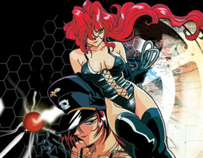 """Sorcerer Hunters:"" Anime TV Series – Print & Packaging"