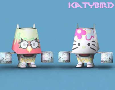 "Mix Character series ""Katy Bird"""