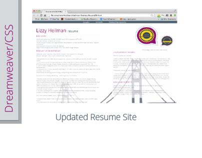 Dreamweaver/CSS3/HTML5 E-Commerce Web Design