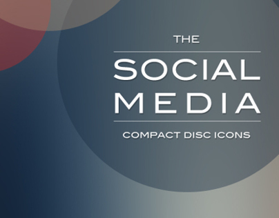The Social Media - Compact Disc Icons