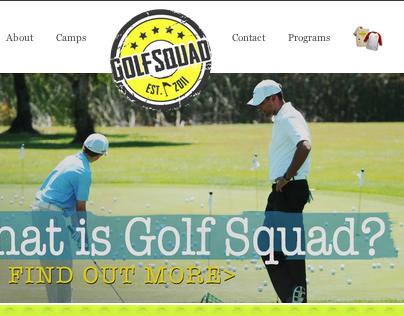 Golf Squad Redesign