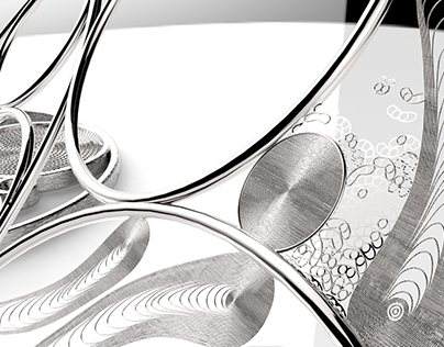 3D filigree design