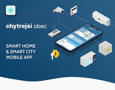 Chytřejší obec - Smart Home and Smart City Mobile App