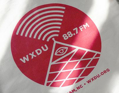 WXDU / 'All Seeing Eye' Tote Bag
