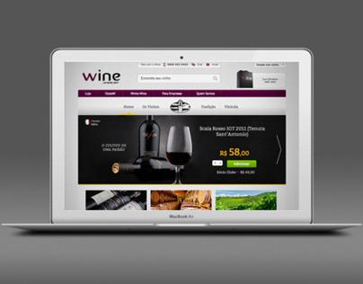 Hotsite Tenuta Sant'Antonio - Wine.com.br