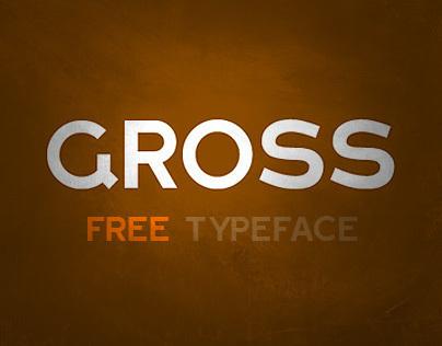GROSS typeface