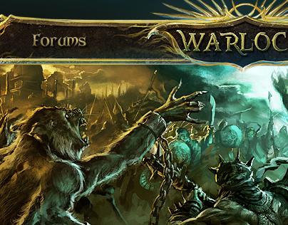 Warlock (design, buildings, scrolls)