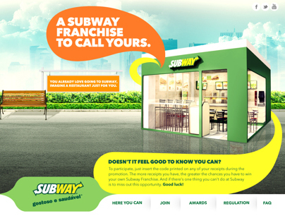 A Subway Franchise to call yours