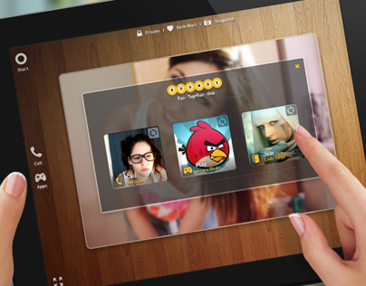 Video Chat Web/Tablet Concept App