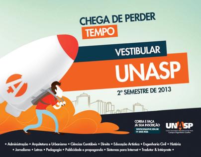 Campanha Vestibular UNASP 2013