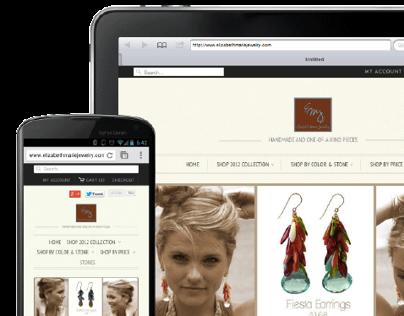 Responsive Design Website- EMJ
